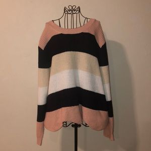 Plus size Charlotte Russe knit sweater
